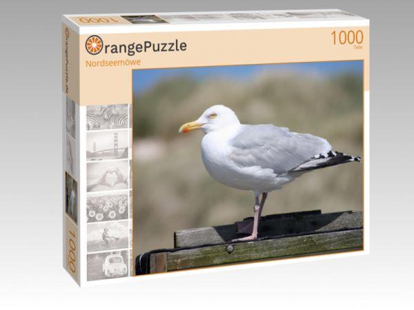 """Puzzle Motiv """"Nordseemöwe"""" - Puzzle-Schachtel zu 1000 Teile Puzzle"""