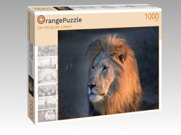 """Puzzle Motiv """"Der König der Löwen"""" - Puzzle-Schachtel zu 1000 Teile Puzzle"""