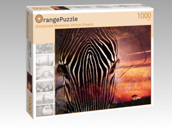 """Puzzle Motiv """"Emotionale Momente: African Dreams"""" - Puzzle-Schachtel zu 1000 Teile Puzzle"""