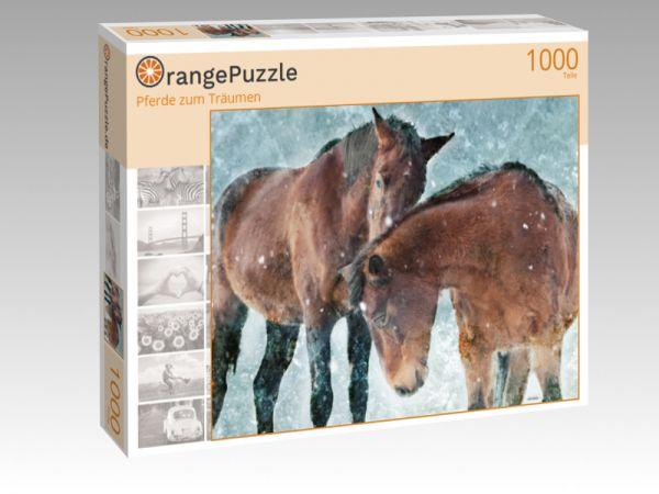 """Puzzle Motiv """"Pferde zum Träumen"""" - Puzzle-Schachtel zu 1000 Teile Puzzle"""