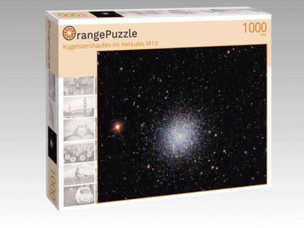 """Puzzle Motiv """"Kugelsternhaufen im Herkules M13"""" - Puzzle-Schachtel zu 1000 Teile Puzzle"""