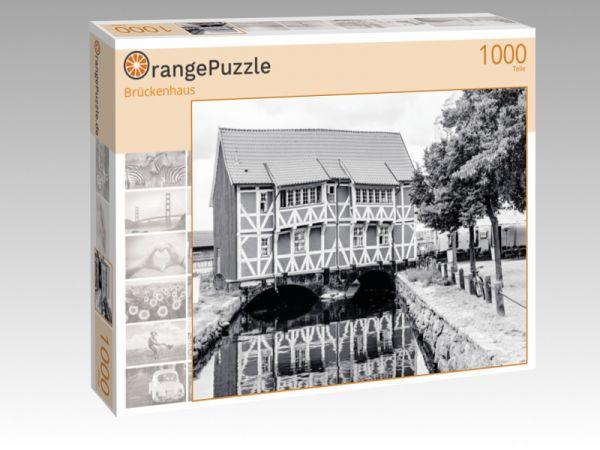 """Puzzle Motiv """"Brückenhaus"""" - Puzzle-Schachtel zu 1000 Teile Puzzle"""