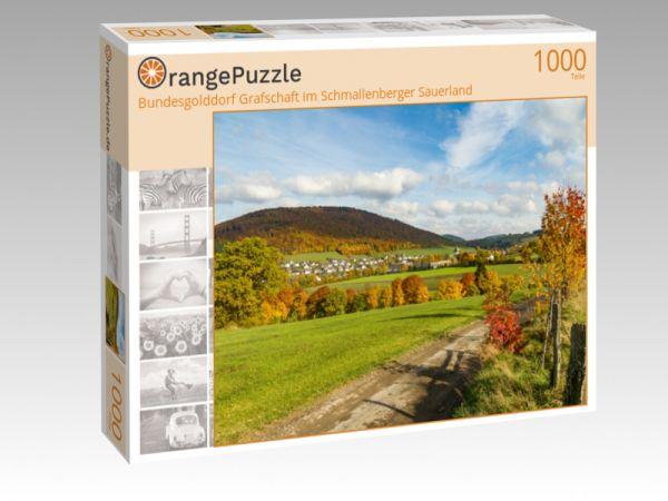 """Puzzle Motiv """"Bundesgolddorf Grafschaft im Schmallenberger Sauerland"""" - Puzzle-Schachtel zu 1000 Teile Puzzle"""