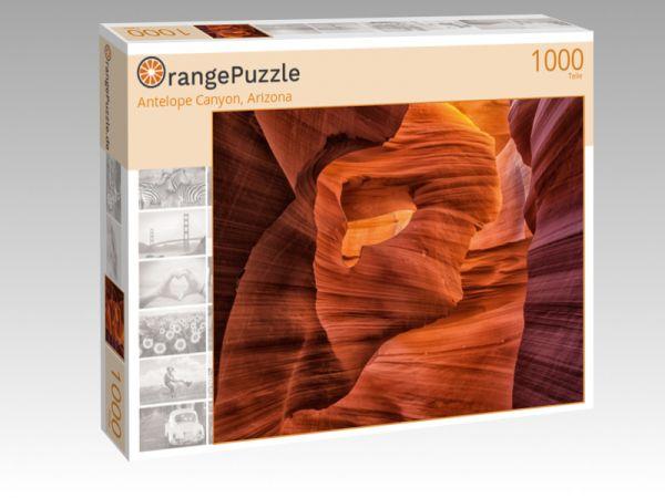 "Puzzle Motiv ""Antelope Canyon, Arizona"" - Puzzle-Schachtel zu 1000 Teile Puzzle"