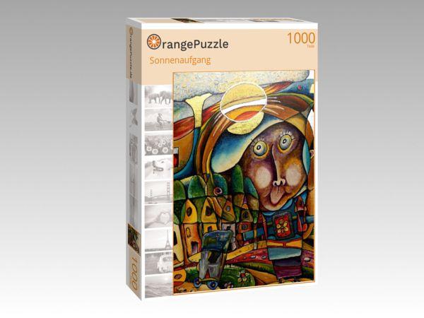"""Puzzle Motiv """"Sonnenaufgang"""" - Puzzle-Schachtel zu 1000 Teile Puzzle"""