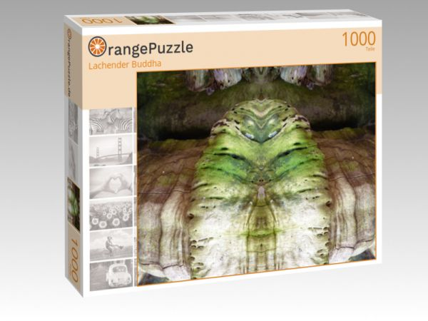 "Puzzle Motiv ""Lachender Buddha"" - Puzzle-Schachtel zu 1000 Teile Puzzle"