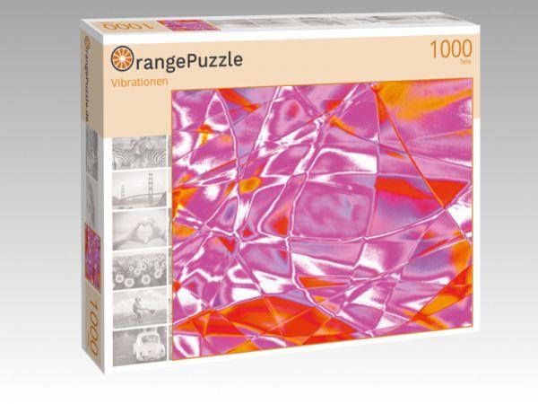 """Puzzle Motiv """"Vibrationen"""" - Puzzle-Schachtel zu 1000 Teile Puzzle"""