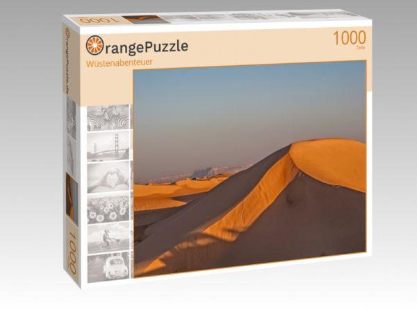 "Puzzle Motiv ""Wüstenabenteuer"" - Puzzle-Schachtel zu 1000 Teile Puzzle"