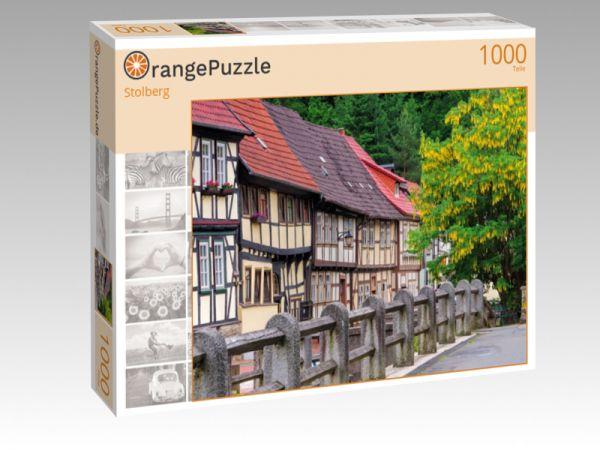 """Puzzle Motiv """"Stolberg"""" - Puzzle-Schachtel zu 1000 Teile Puzzle"""