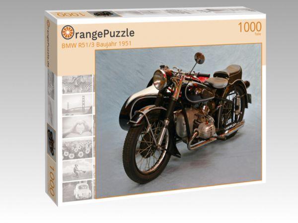 "Puzzle Motiv ""BMW R51/3 Baujahr 1951"" - Puzzle-Schachtel zu 1000 Teile Puzzle"