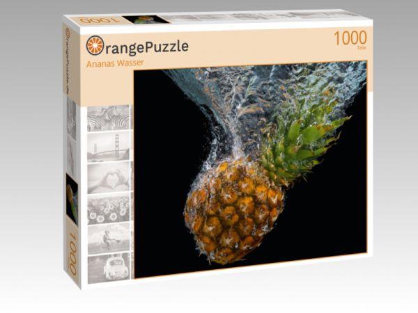 """Puzzle Motiv """"Ananas Wasser"""" - Puzzle-Schachtel zu 1000 Teile Puzzle"""