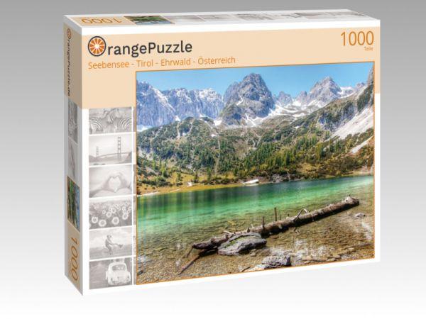 """Puzzle Motiv """"Seebensee - Tirol - Ehrwald - Österreich"""" - Puzzle-Schachtel zu 1000 Teile Puzzle"""