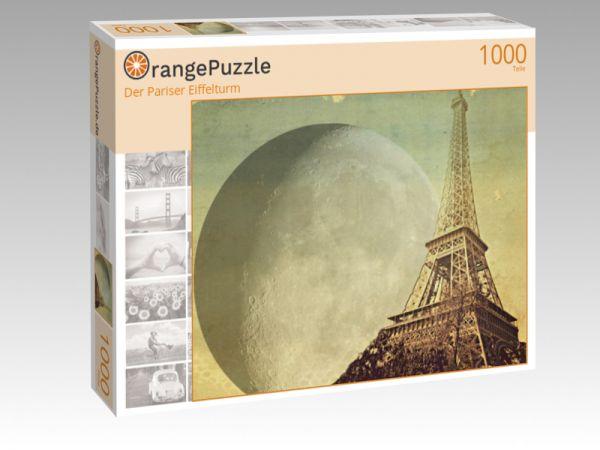 """Puzzle Motiv """"Der Pariser Eiffelturm"""" - Puzzle-Schachtel zu 1000 Teile Puzzle"""