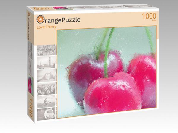 """Puzzle Motiv """"Love Cherry"""" - Puzzle-Schachtel zu 1000 Teile Puzzle"""