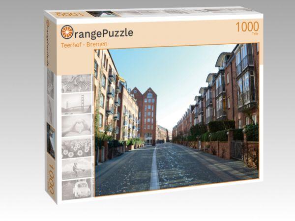 """Puzzle Motiv """"Teerhof - Bremen"""" - Puzzle-Schachtel zu 1000 Teile Puzzle"""