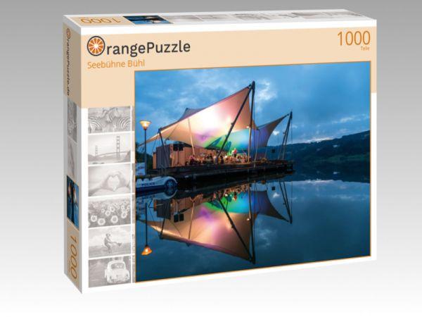 """Puzzle Motiv """"Seebühne Bühl"""" - Puzzle-Schachtel zu 1000 Teile Puzzle"""