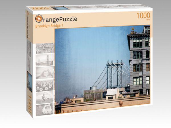 """Puzzle Motiv """"Brooklyn Bridge 1"""" - Puzzle-Schachtel zu 1000 Teile Puzzle"""