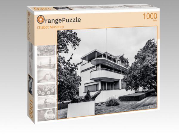 """Puzzle Motiv """"Chabot Museum"""" - Puzzle-Schachtel zu 1000 Teile Puzzle"""