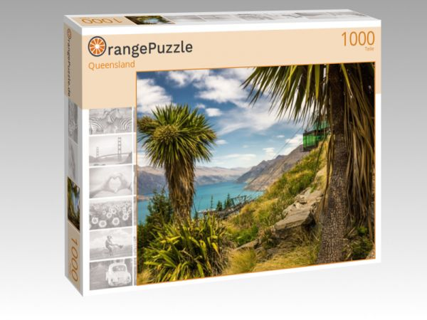 """Puzzle Motiv """"Queensland"""" - Puzzle-Schachtel zu 1000 Teile Puzzle"""