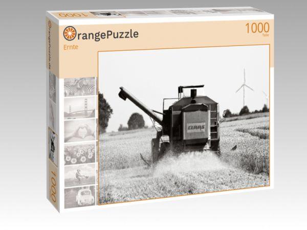 """Puzzle Motiv """"Ernte"""" - Puzzle-Schachtel zu 1000 Teile Puzzle"""
