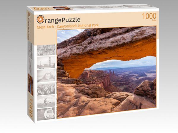 """Puzzle Motiv """"Mesa Arch - Canyonlands National Park"""" - Puzzle-Schachtel zu 1000 Teile Puzzle"""