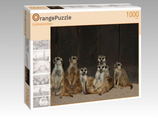 "Puzzle Motiv ""Erdmännchen"" - Puzzle-Schachtel zu 1000 Teile Puzzle"