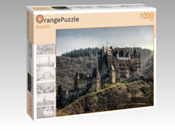 """Puzzle Motiv """"Burg Eltz"""" - Puzzle-Schachtel zu 1000 Teile Puzzle"""