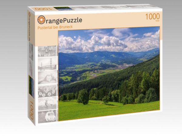 """Puzzle Motiv """"Pustertal bei Bruneck"""" - Puzzle-Schachtel zu 1000 Teile Puzzle"""