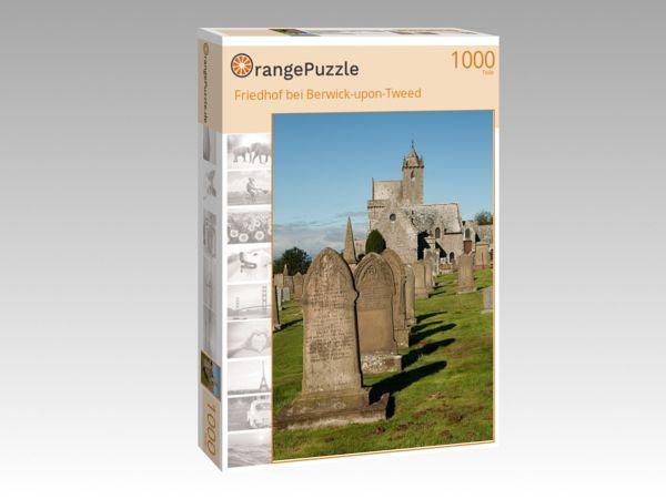 "Puzzle Motiv ""Friedhof bei Berwick-upon-Tweed"" - Puzzle-Schachtel zu 1000 Teile Puzzle"