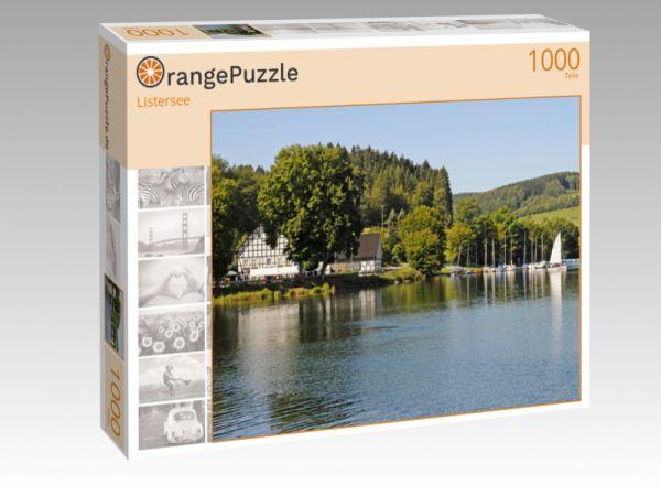 """Puzzle Motiv """"Listersee"""" - Puzzle-Schachtel zu 1000 Teile Puzzle"""