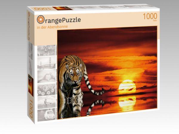 """Puzzle Motiv """"in der Abendsonne"""" - Puzzle-Schachtel zu 1000 Teile Puzzle"""