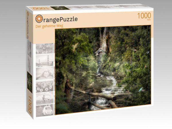 """Puzzle Motiv """"Der geheime Weg"""" - Puzzle-Schachtel zu 1000 Teile Puzzle"""