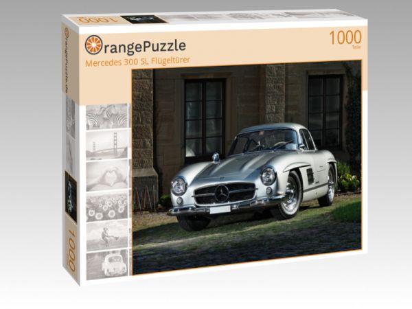 """Puzzle Motiv """"Mercedes 300 SL Flügeltürer"""" - Puzzle-Schachtel zu 1000 Teile Puzzle"""
