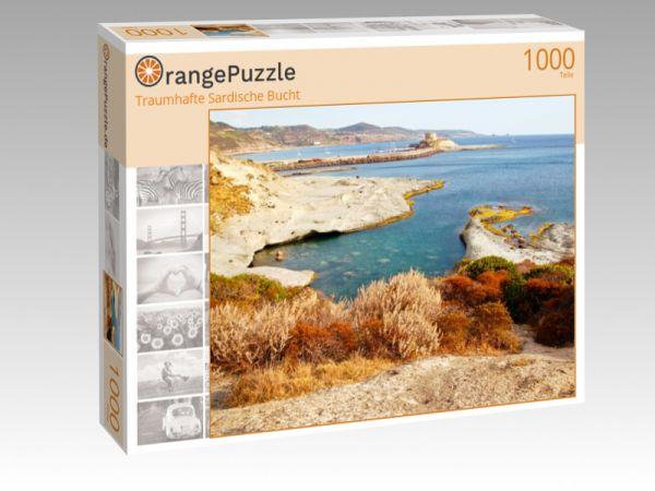 """Puzzle Motiv """"Traumhafte Sardische Bucht"""" - Puzzle-Schachtel zu 1000 Teile Puzzle"""