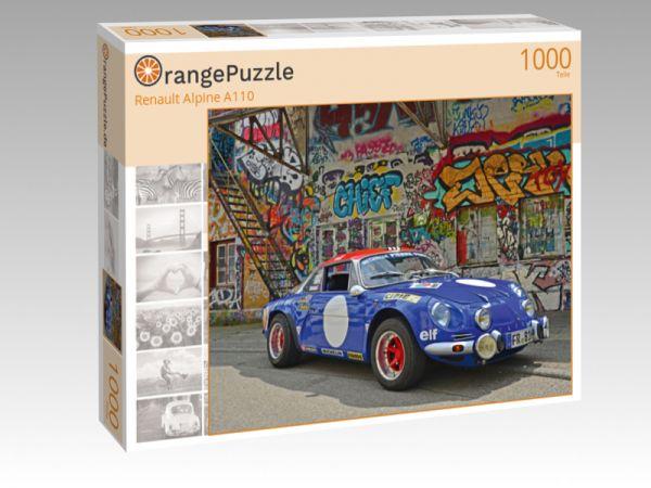 """Puzzle Motiv """"Renault Alpine A110"""" - Puzzle-Schachtel zu 1000 Teile Puzzle"""