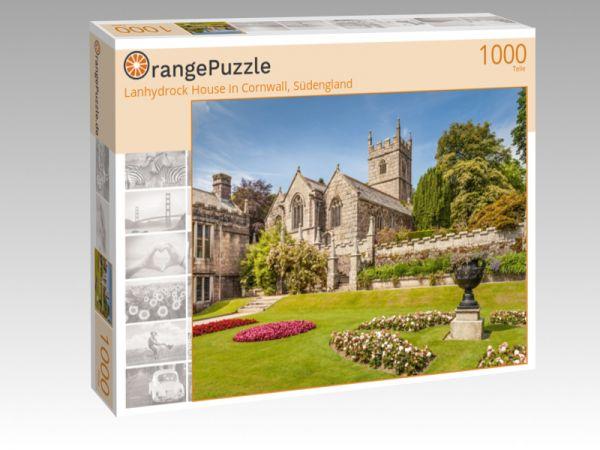 "Puzzle Motiv ""Lanhydrock House in Cornwall, Südengland"" - Puzzle-Schachtel zu 1000 Teile Puzzle"