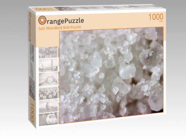 """Puzzle Motiv """"Salz Wandbild Bild Puzzle"""" - Puzzle-Schachtel zu 1000 Teile Puzzle"""