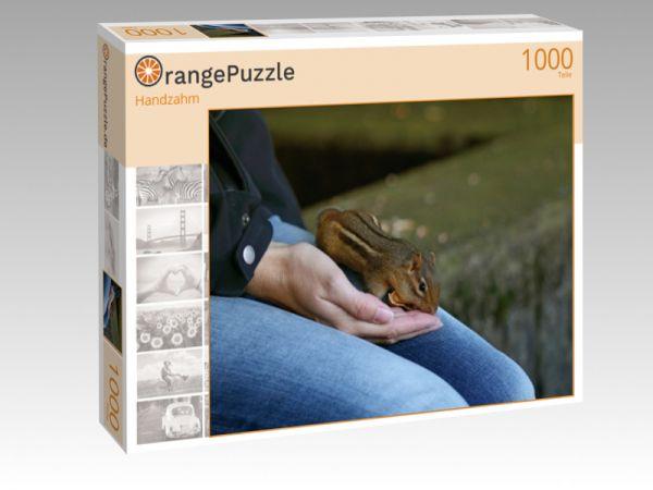 "Puzzle Motiv ""Handzahm"" - Puzzle-Schachtel zu 1000 Teile Puzzle"