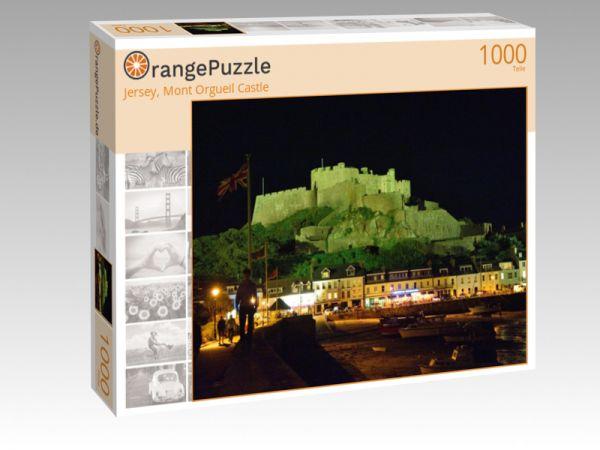 """Puzzle Motiv """"Jersey, Mont Orgueil Castle"""" - Puzzle-Schachtel zu 1000 Teile Puzzle"""