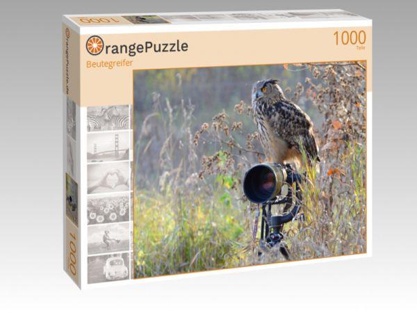 """Puzzle Motiv """"Beutegreifer"""" - Puzzle-Schachtel zu 1000 Teile Puzzle"""