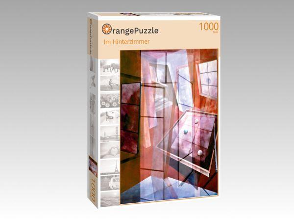 """Puzzle Motiv """"Im Hinterzimmer"""" - Puzzle-Schachtel zu 1000 Teile Puzzle"""