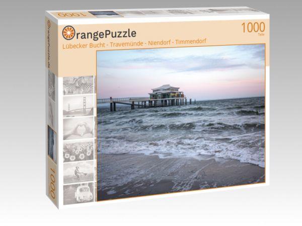 """Puzzle Motiv """"Lübecker Bucht - Travemünde - Niendorf - Timmendorf"""" - Puzzle-Schachtel zu 1000 Teile Puzzle"""