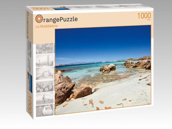 """Puzzle Motiv """"La Maddalena"""" - Puzzle-Schachtel zu 1000 Teile Puzzle"""