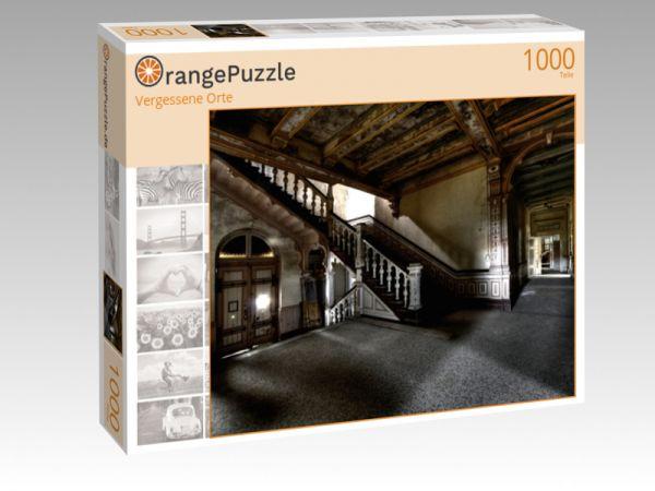 "Puzzle Motiv ""Vergessene Orte"" - Puzzle-Schachtel zu 1000 Teile Puzzle"