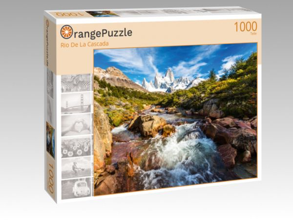 """Puzzle Motiv """"Rio De La Cascada"""" - Puzzle-Schachtel zu 1000 Teile Puzzle"""
