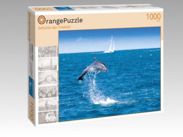 """Puzzle Motiv """"Gefühle der Freiheit"""" - Puzzle-Schachtel zu 1000 Teile Puzzle"""