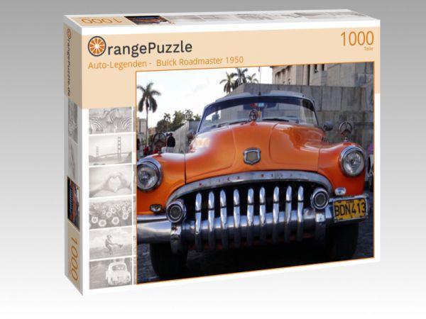 """Puzzle Motiv """"""""Auto-Legenden -  Buick Roadmaster 1950"""""""" - Puzzle-Schachtel zu 1000 Teile Puzzle"""