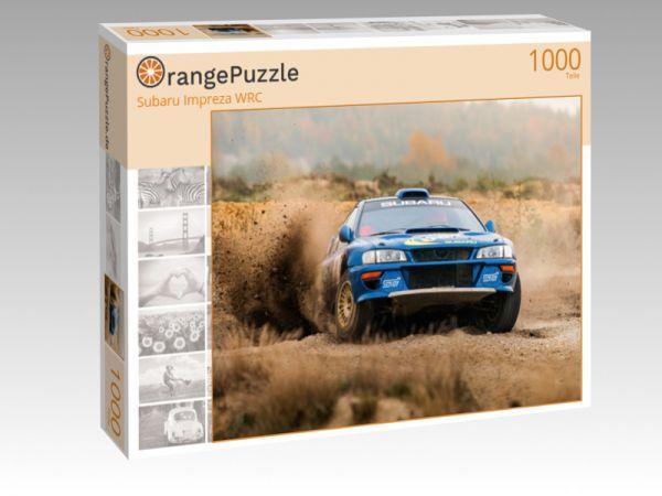 """Puzzle Motiv """"Subaru Impreza WRC"""" - Puzzle-Schachtel zu 1000 Teile Puzzle"""