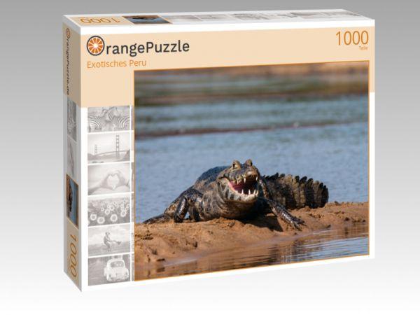 """Puzzle Motiv """"Exotisches Peru"""" - Puzzle-Schachtel zu 1000 Teile Puzzle"""
