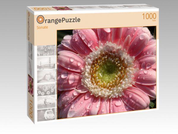 """Puzzle Motiv """"Sonate"""" - Puzzle-Schachtel zu 1000 Teile Puzzle"""